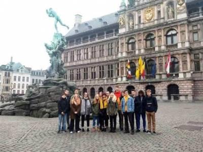 Podróż do Antwerpii